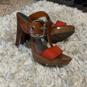 Gianni Bini wooden Pumps